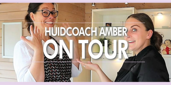 Huidcoach Amber on tour